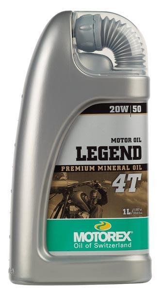 Huile Motorex Legend 4T