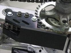 Sabot arrière de protection PHD Axp Racing