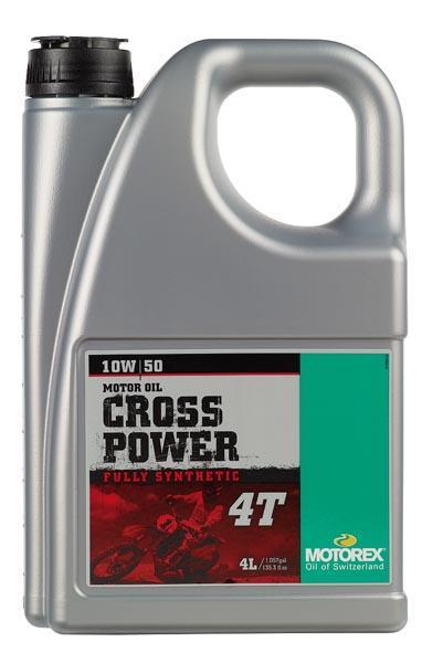 Huile Motorex Cross Power 4t 10W50