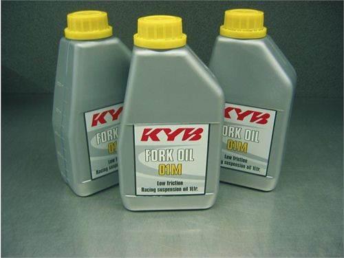 """Huile de fourche KYB """"01M"""" 1 litre"""