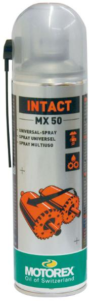 Lubrifiant marque Motorex Intact MX 50 spray 500ml