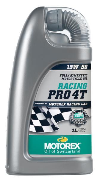 Huile Motorex Racing Pro 4T 15W50 1 litre