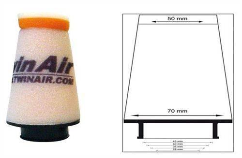 Filtre à air Pitbike conique Twin Air