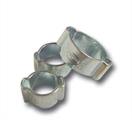 Colliers 2 oreilles à sertir acier zingué MotionPro
