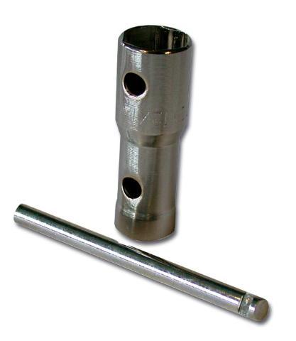 Clé à bougie multiple (douille) 16, 18, 21mm Bihr