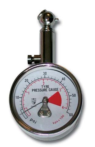 Manomètre de contrôle de pression des pneus Bihr