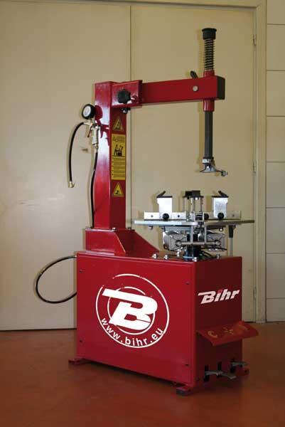 Demonte-pneu marque Bihr Eco 380V - 3Ph semi-automatique