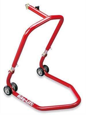 Béquille AVT Bike-lift pour colonne de direction rouge
