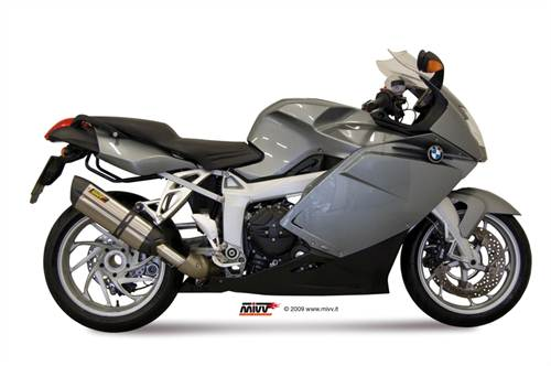 Silencieux Mivv Sport Suono Steel acier inox et coupelle carbone