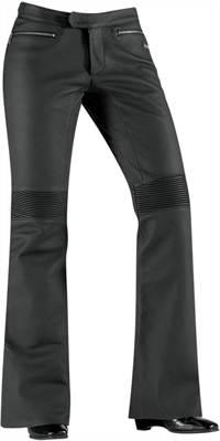Pantalon Icon en cuir pour Femme Hella noir