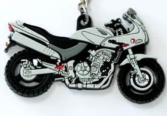 Porte clés moto