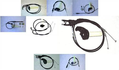 Kit poignée + cable de gaz