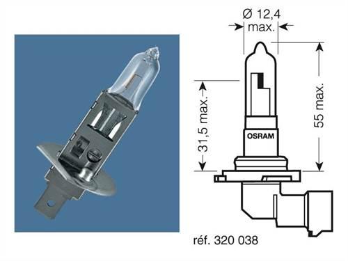 Ampoules Osram