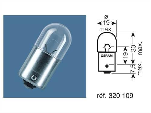 Ampoules Osram arrière