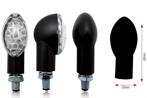 Clignotants Bihr Oval leds