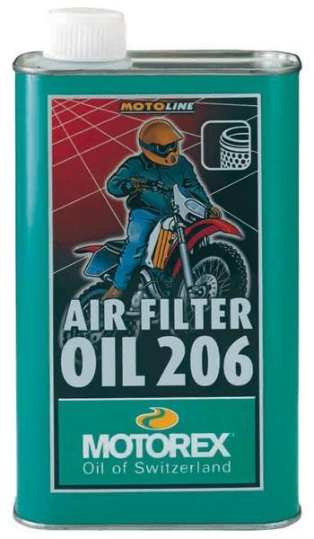 Huile Motorex Air Filter Oil 206 1 litre