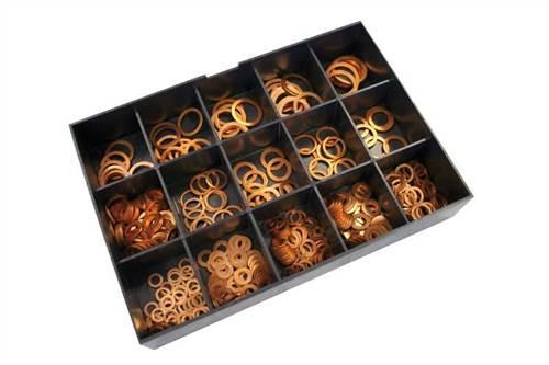 Assortiment de 400 rondelles cuivre Centauro