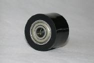 Roulette de chaînes noire