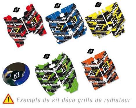 Kits déco grille de radiateurs BlackBird
