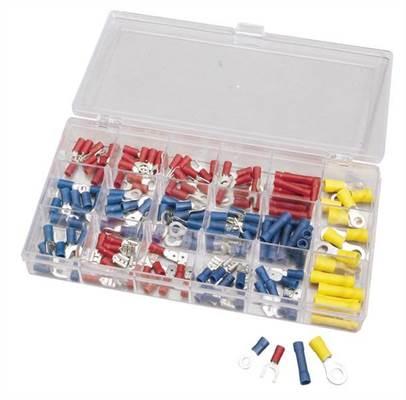 Coffret 150 cosses pré-isolées à sertir Draper Tools