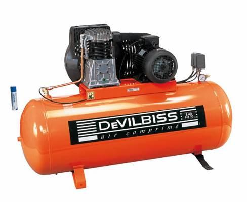 Compresseur Devilbiss 5,5CV / 270L