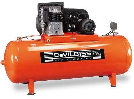 Compresseur Devilbiss 5,5CV / 500L
