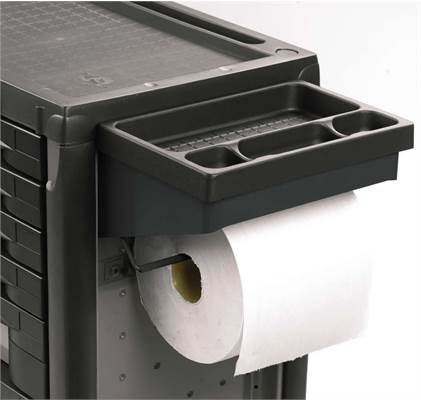 Accessoires servante Facom : Tablette & support rouleau papier