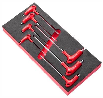 Module 7 clés mâles Torx® poignées en T