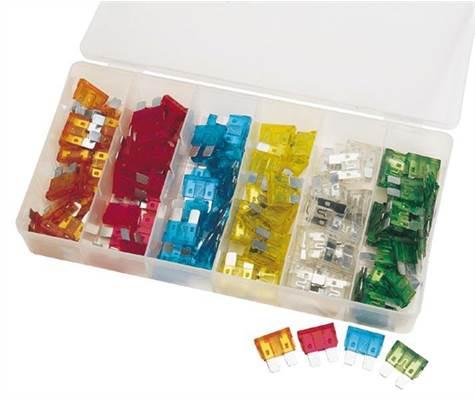 Boîte de 120 mini-fusibles Draper Tools