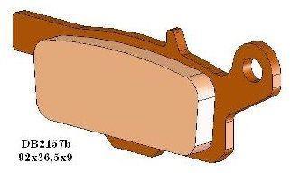 Plaquette de frein arrière Tecnium