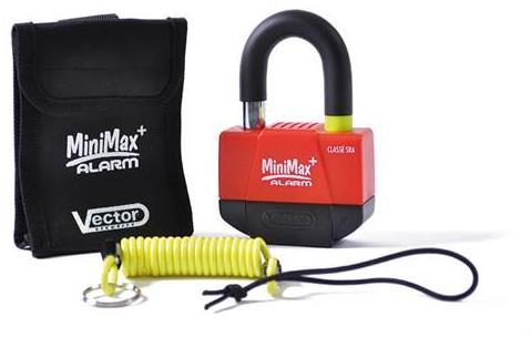 Antivols Vector : Bloque-disque Mini max alarme+