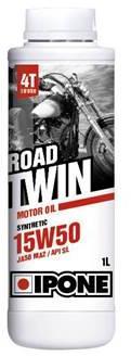 Huile moteur Ipone Moto 4T Road Twin 15W50