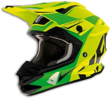 Casque cross Ufo Interceptor Acid
