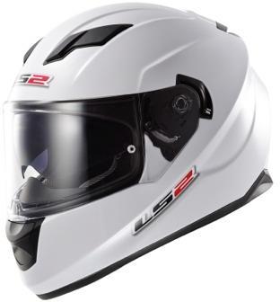 Casque moto LS2 FF320 Stream blanc