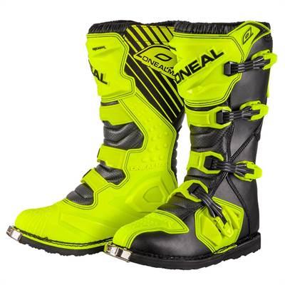 Bottes cross Oneal Rider jaune noir