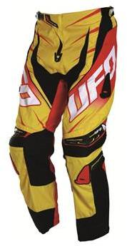 Pantalon cross UFO Voltage Jaune