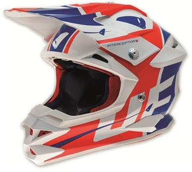 Casque cross Ufo Destroyer