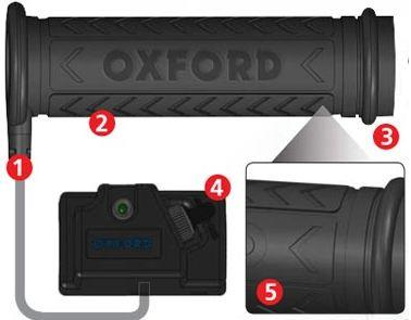Hot grips ATV Oxford