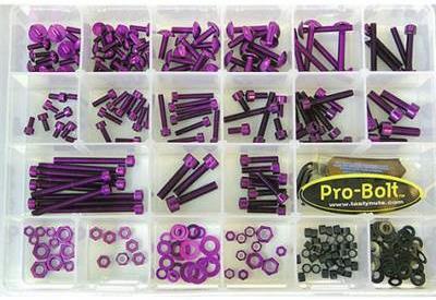 Kit visserie atelier - 200 pièces Pro Bolt
