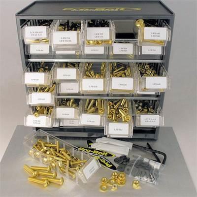 Kit visserie atelier - 500 pièces Pro Bolt