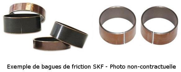 Bagues de friction SKF Téflon Extérieur
