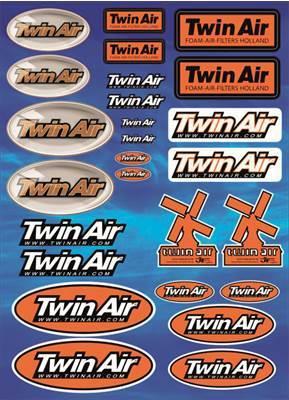 Planche d'autocollants Twin air