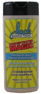 Savon Magic Jack Manufacturing pour les mains et les surfaces