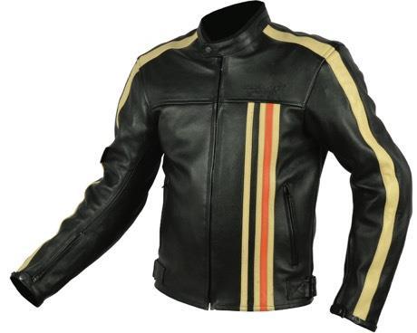 Blouson moto cuir Rider-Tec Vintage