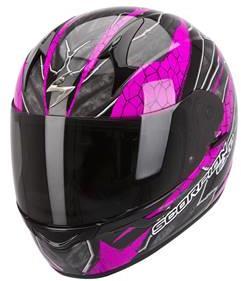 Casque moto Scorpion Exo 410 Rad rose