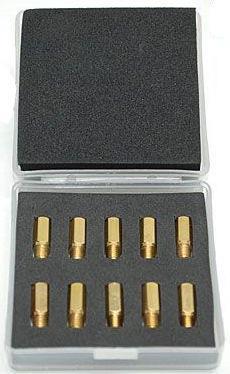 Boîte de 10 gicleurs de ralenti MIKUNI 15 à 37,5 TYPE MKP