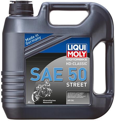 Huile Moteur 4T Minérale Liqui Moly HD-Classic SAE 50 Street