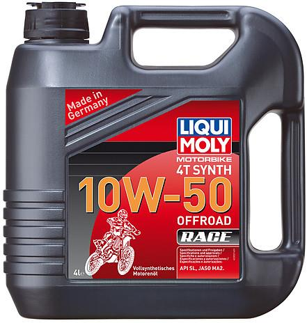 Huile Moteur 4T 100% Synthèse Offroad Race Liqui Moly 10W50