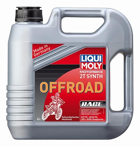 Huile Moteur 2T 100% Synthèse Offroad Race Liqui Moly