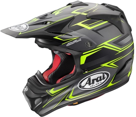 Casque cross Arai MX-V Sly Jaune
